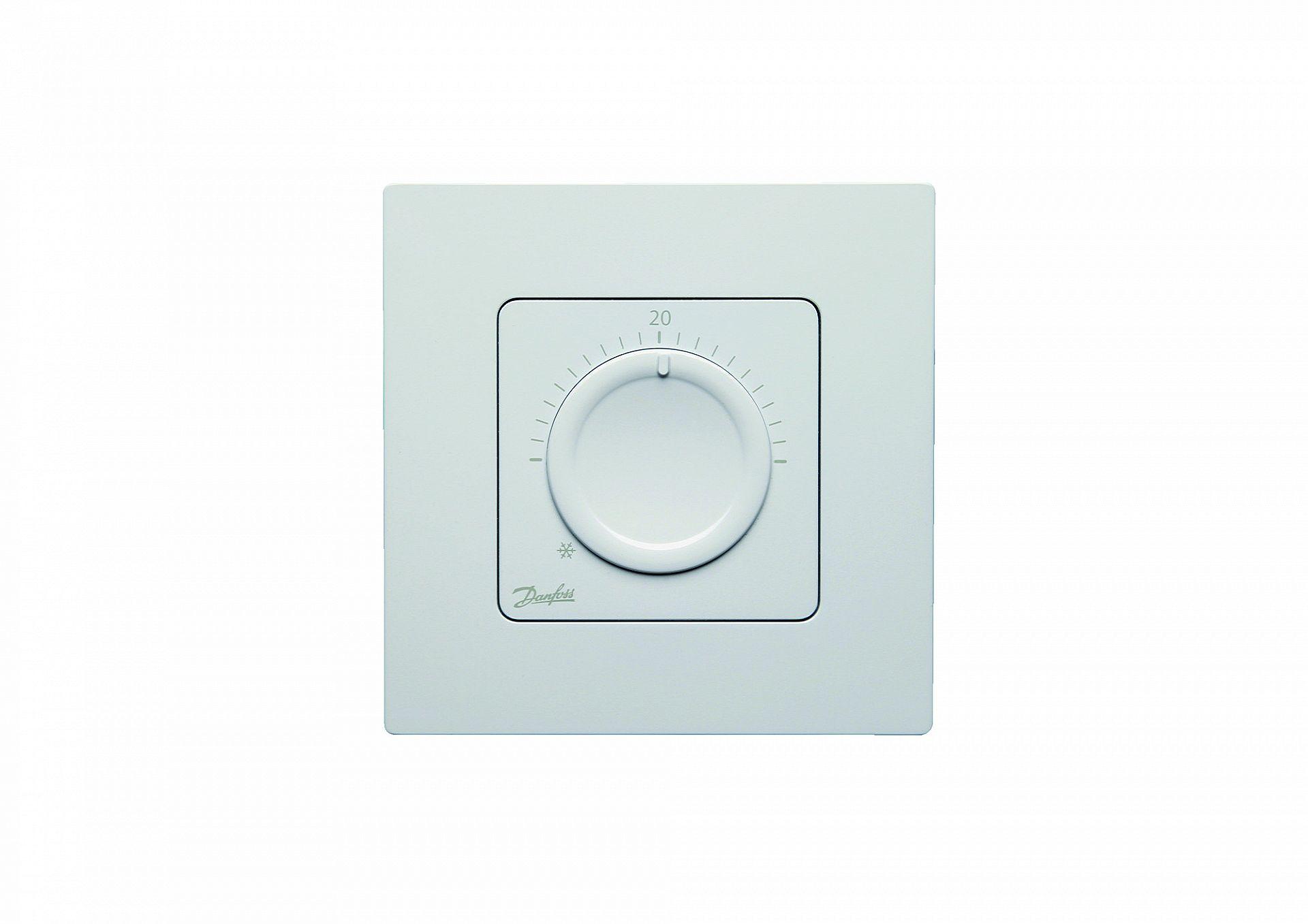 Termostat na stenu bezdrôtový s kolieskom